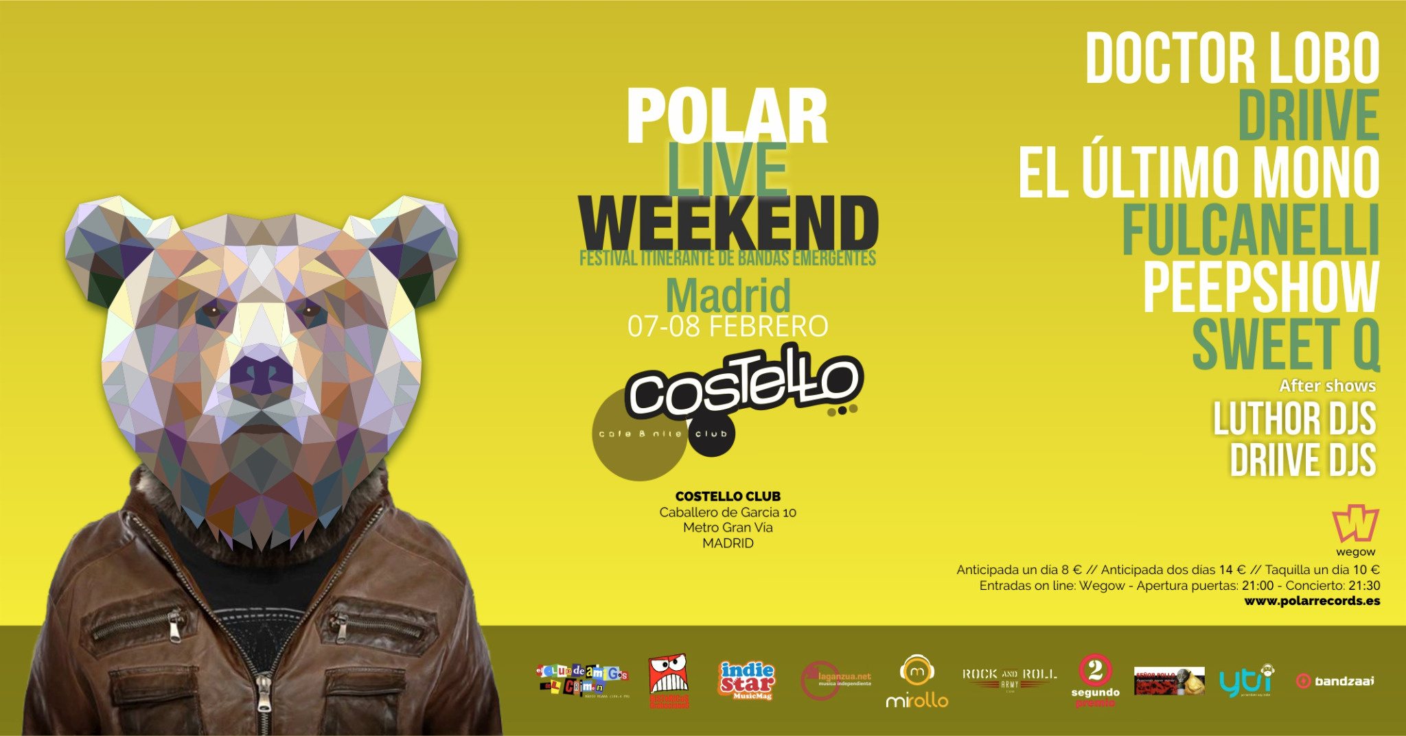 POLAR LIVE WEEKEND MADRID 2020